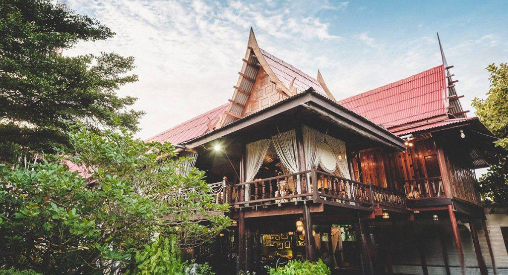 แต่งงานที่เรือนไทย